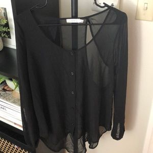 Lush Sheer Blouse